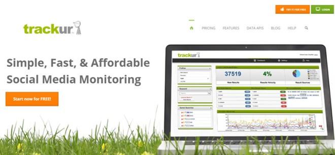 strumenti di monitoraggio reputazione online trackur