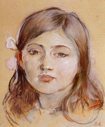 Berthe Morisot - Retrato de Julie