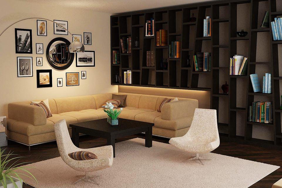 apartment living room designs furniture for small india cream brown rust ipc136 - unique ...