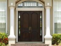 Modern Front Door With Side Panel Ipc453