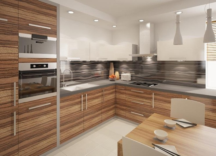 Uk Based High Gloss Kitchen Cabinet Design Ipc400 High Gloss