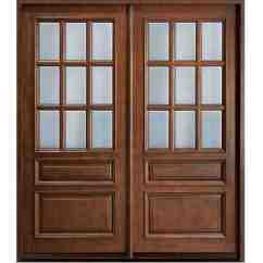 Free Standing Kitchen Cabinets Designing Glass Wooden Door With Frame Hpd480 - Panel Doors ...