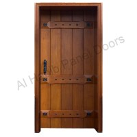Solid Diyar Wood Door Hpd421 - Solid Wood Doors - Al Habib ...
