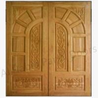 Diyar Solid Wood Double Door Hpd506 - Main Doors - Al ...