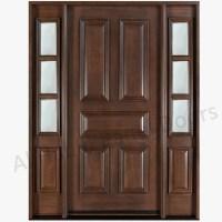 Dayar Wooden Front Door Hpd458 - Solid Wood Doors - Al ...