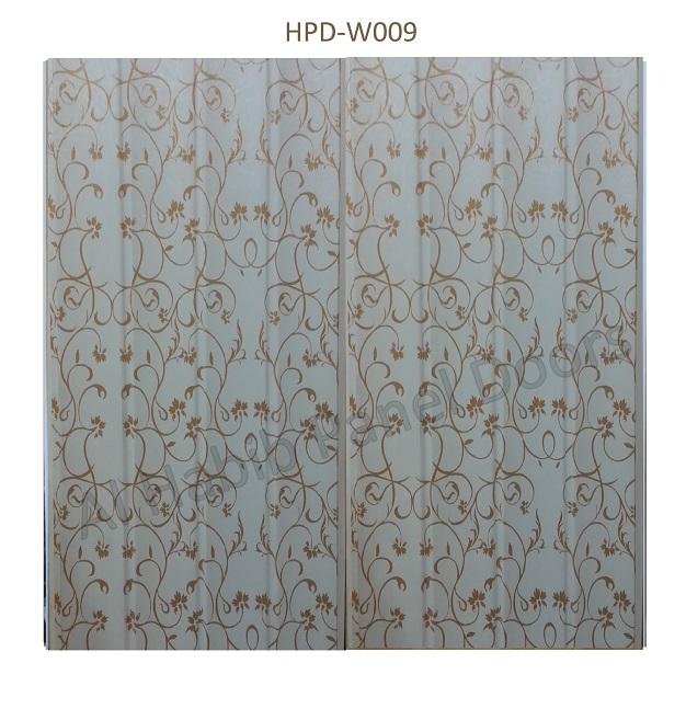 Straight Oak Textured Pvc Wall Panels Hpdl004