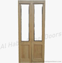 Wood Interior Door With Glass Hpd175