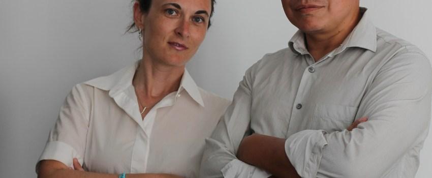 Patricia Medina y Andrey García, promotores de Mi Refugio Infantil.