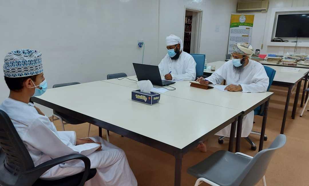 ختام مسابقة حفظ القرآن الكريم والحديث النبوي بـ #ولاية_الحمراء