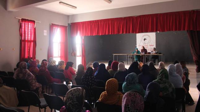 ندوة علمية لفائدة النساء تحث عنوان دور التكافل الاجتماعي في تتبيث الاواصر بين المسلمين