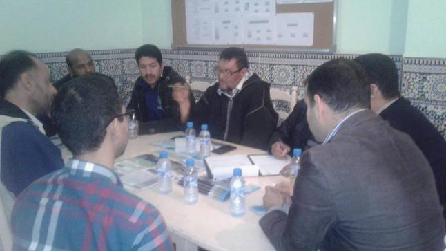 عقدت الجمعية اجتماعا تحضيريا خصص لتدارس سبل وطرق تمويل مشروع بناء دار الحنان للايتام