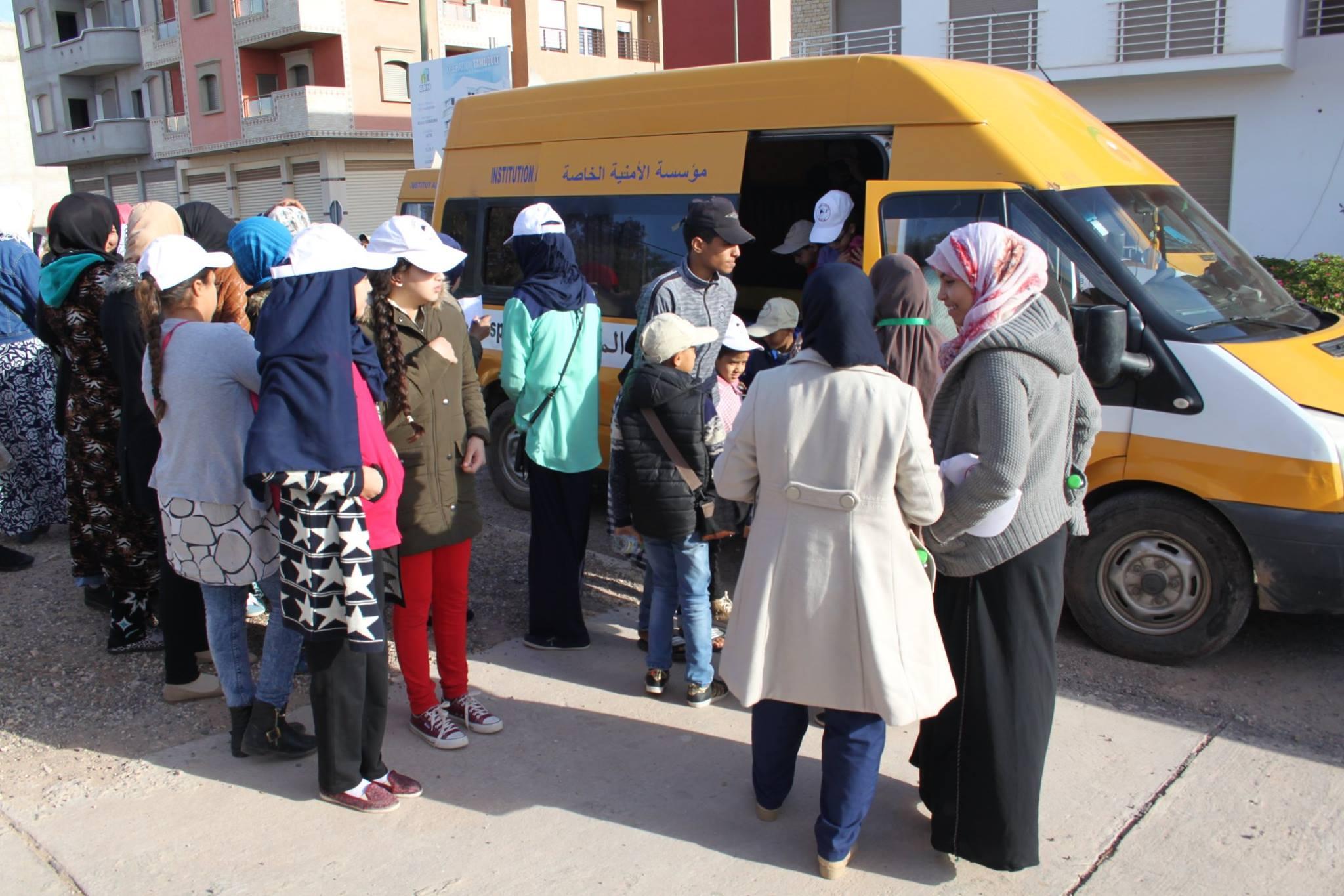 800 يتيم يستفيدون من قافلة طب الأسنان بأكادير من بينهم أيتام جمعية الحنان لرعاية الأيتام