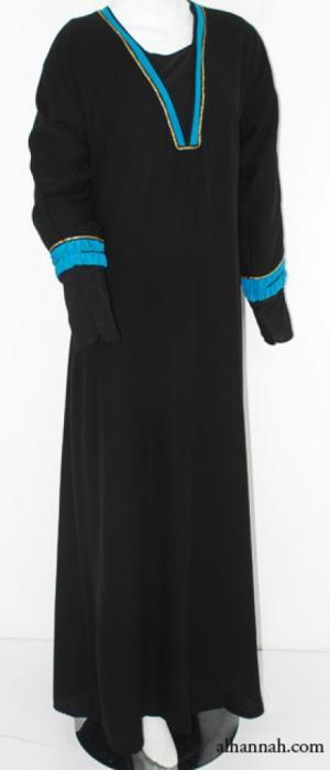Womens Tailored Jordanian Abaya ab574
