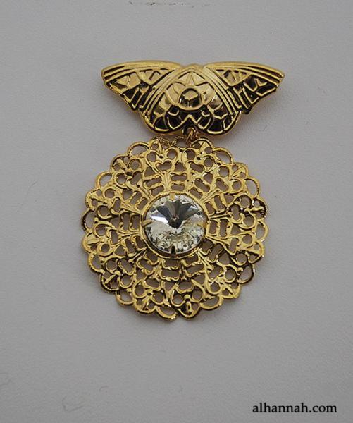 Brass Brooch Pin ac281