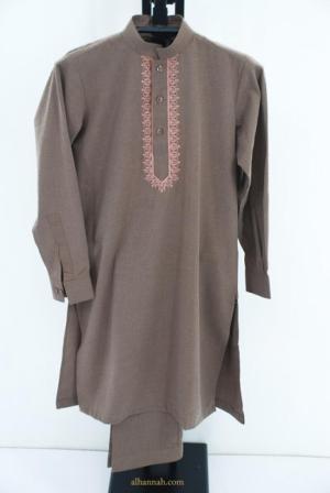 Boys Embroidered Premium Salwar Kameez Set ch488