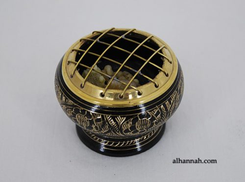 Solid Brass Incense Burner gi656