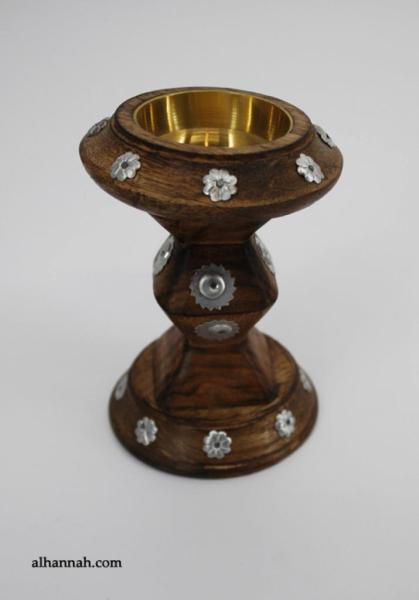 Carved Large Wooden Incense Burner gi679