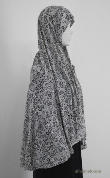 Deluxe Printed Al Amirah Hijab hi1830
