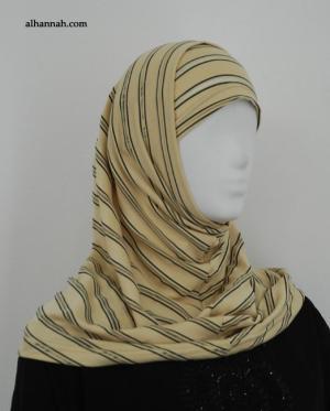 Pinstripe Al Amirah Hijab hi1876