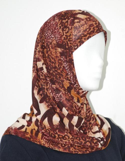 Printed Al Amirah Hijab hi1919