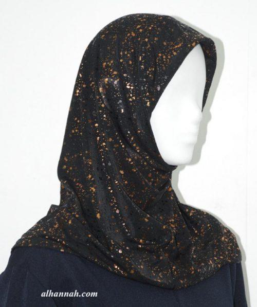 One Piece Printed Al Amirah Hijab hi1927