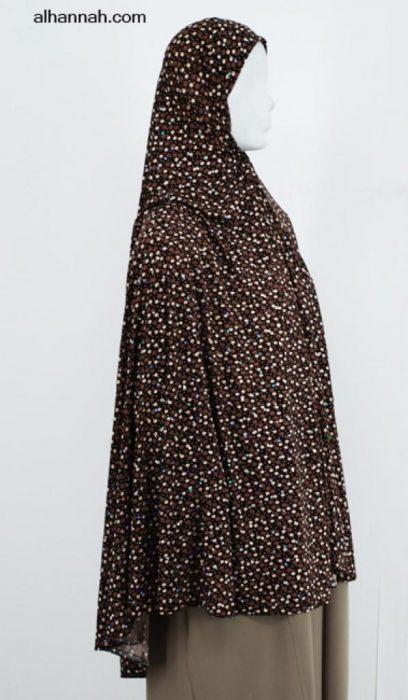Deluxe Printed Al Amirah Hijab hi1986