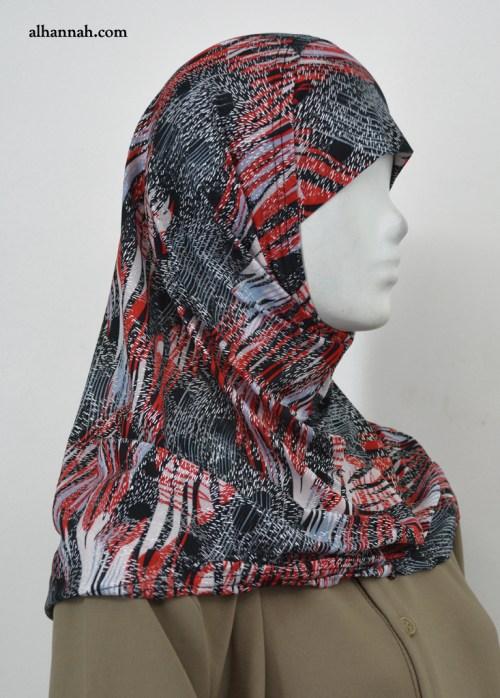 AlAmirah Abstract Print Hijab hi2041