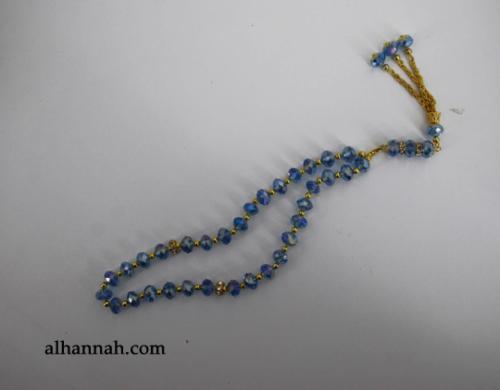 Premium Prismatic Cut-Crystal Prayer Beads ii969