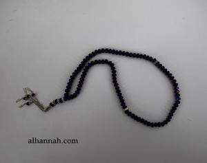 Premium Metallic Cut-Crystal Prayer Beads ii970