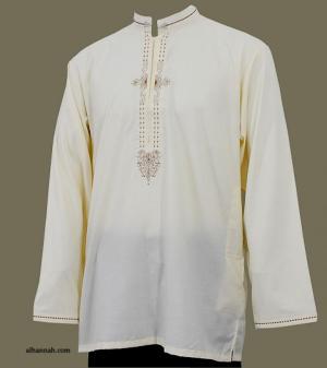Men's Waist-length Kurta Shirt  me581