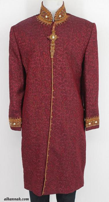 Mens Deluxe Sherwani Suit Jacket me651