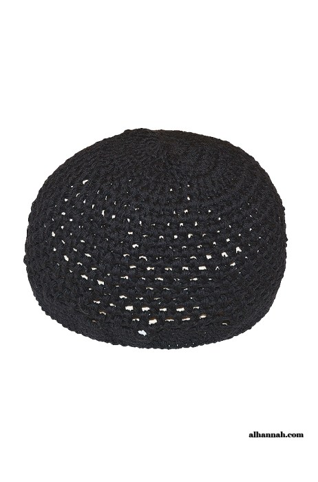 Cotton Muslim Crochet Kufi - Extra Large me673