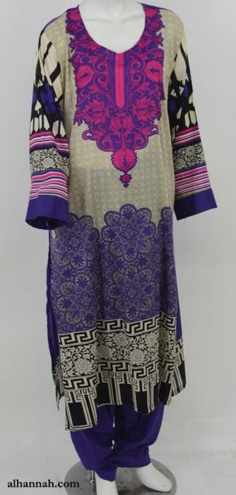 Sabirah Salwar Kameez - Premium Lawn Cotton sk1211