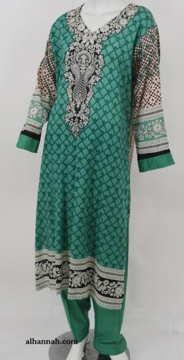 Ibtihaj Salwar Kameez - Premium Lawn Cotton sk1218