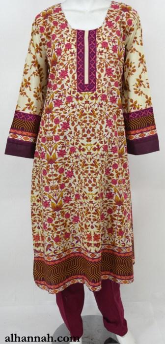 Najibah Salwar Kameez - Premium Cotton sk1229