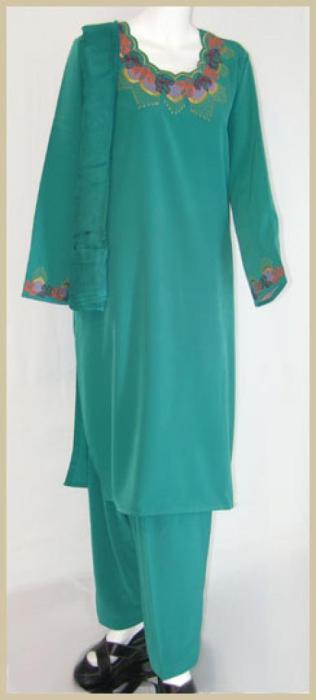Embroidered Salwar Kameez sk975