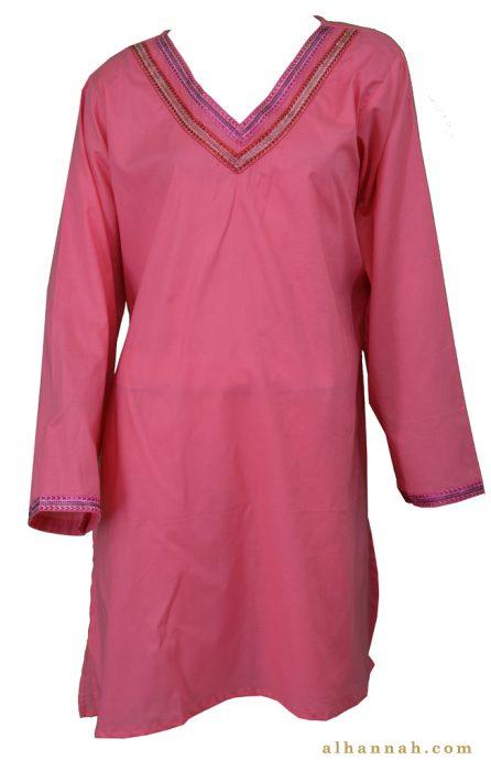 Afshan Cotton Kurta Tunic Top st592