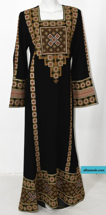 Saihah Embroidered Palestinian Fellaha Thobe th765