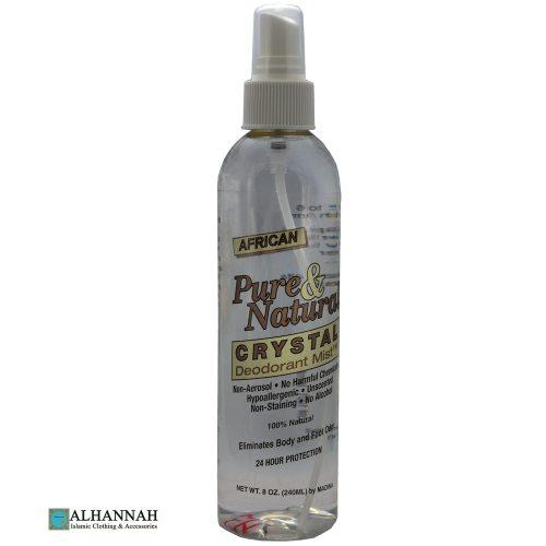 African Crystal Deodorant Mist