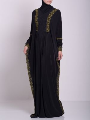 Hafthah Abaya - Pull Over Style ab667 (4)