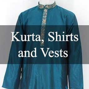 Kurta, Shirts, and Vests