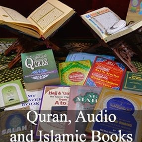 Quran, Audio and Islamic Books