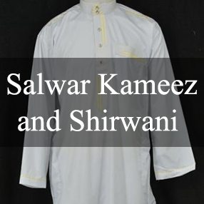 Salwar Kameez and Shirwani