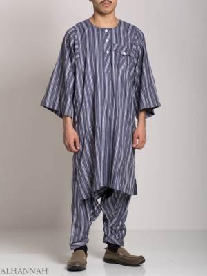 Traje de pantalón para hombre sudanés me685 (9)