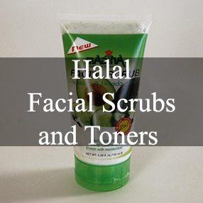Halal Facial Scrubs and Toners