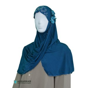 Amira Hijab with Flower and beads