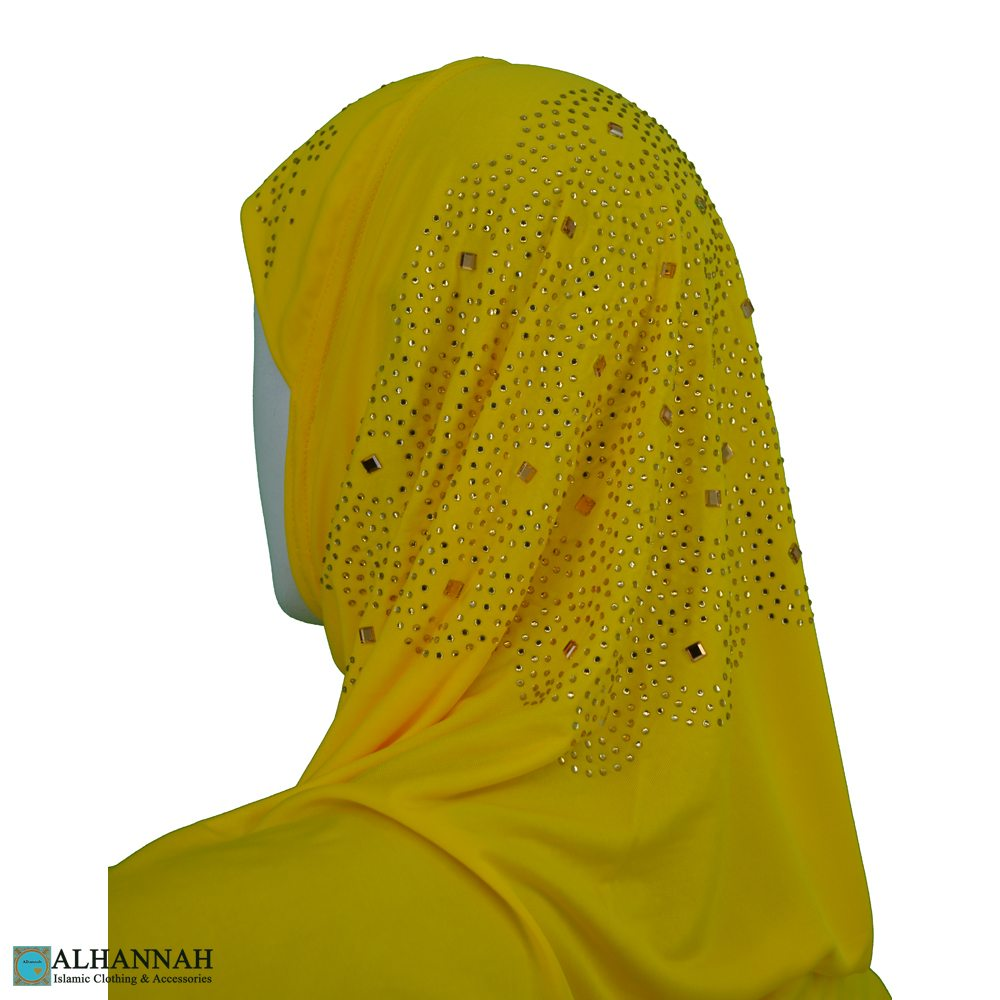 Canary Amira hijab close up