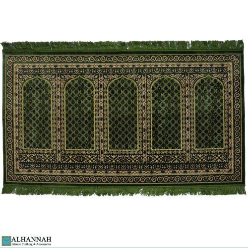Prayer Rug - 5 Person Turkish Emerald