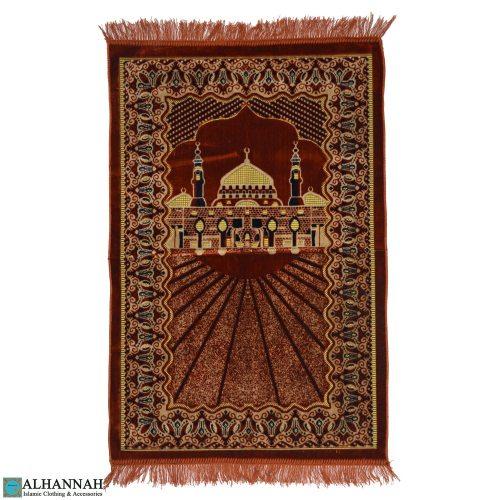 Prayer Rug Prophets Mosque copper