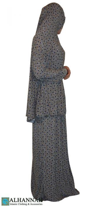 prayer outfit 2 piece print